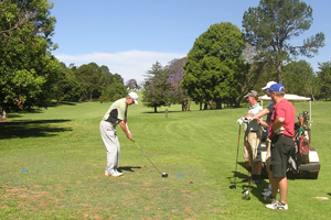 Golf Course, Club House, Tamborine Mountain, Gold Coast Hinterland