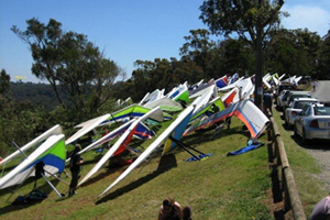 Hang Gliders, Tamborine Mountain, Lookouts, Inland views