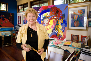 Margaret Goldsmith, Artist Studio, Gallery