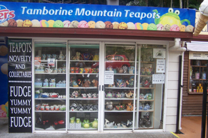Tamborine Mountain Teapots, Curtis Falls Shopping Precinct, Lolly Shop