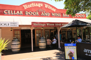 Gallery walk, Heritage Wines Tamborine, Attractions, The Green behind the Gold