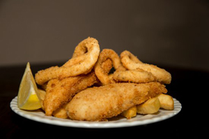 The local codfather, fish and chips, takeaway, Eating Out