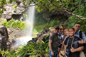 Paradise Tours at Rainbow Falls